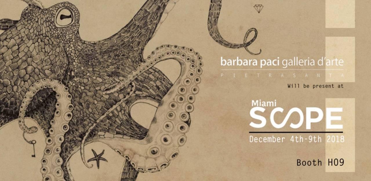 Scope Miami Art Fair 2018 - Miami Beach   Dicembre 2018