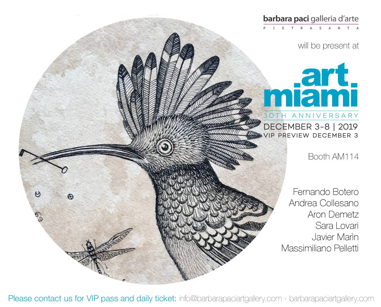 Miami Art Fair 2019 - Miami | Dicembre 2019